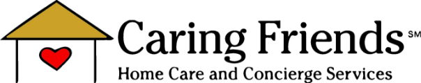 Caring Friends Home Care logo.